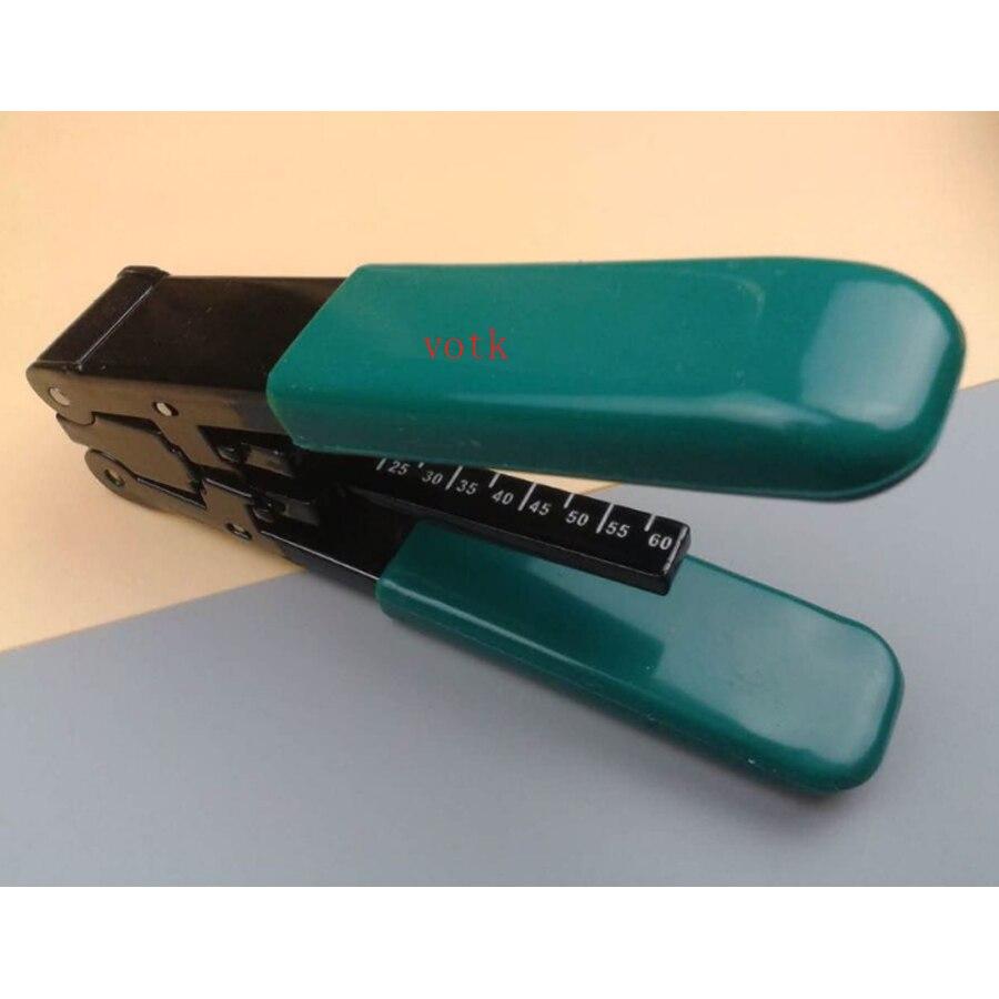 Волокно для/резак FTTH коаксиальный кабель чередование плоскогубцы Волокно-оптический инструмент для зачистки