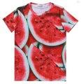 Alisister nueva novedad fruta de verano camiseta de los hombres/de la mujer camisetas 3d print sandía clothing camisetas divertidas harajuku femenino