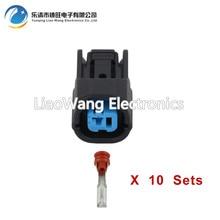 10 PCS 1 Pin Sumitomo Female Knock Sensor Horn Automotive Connector For Honda HD K Series DJ7011Y-2-21