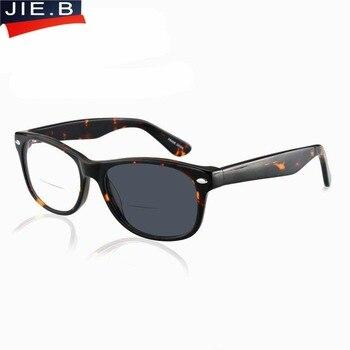 f5a916d308 Gafas de sol bifocales de acetato presbiópicas bifocales gafas de lectura  fotocrómicas + 1,0/+ 1,5/+ 2,0/+ 3,0/+ 2,5