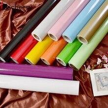Многоцветный глянцевый самоклеющийся настенный бумажный кухонный шкаф гардероб дверь виниловая контактная бумага водонепроницаемая мебель Декор наклейки