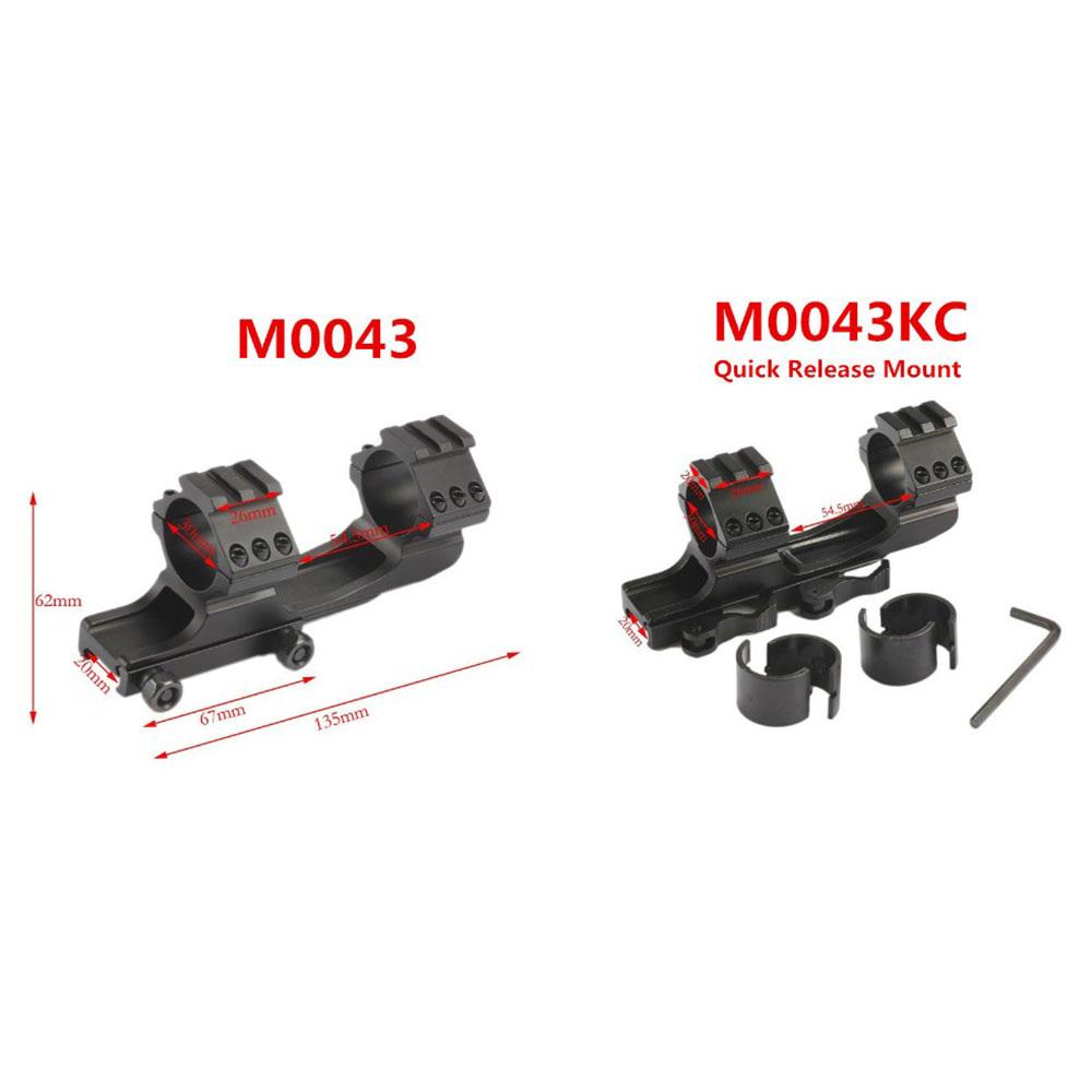 Tactical HeavyDuty Dual Ring 25.4mm 1inch / 30mm Quick Release Cantilever Weaver Forward Reach Scope Mount QD Cam Locks heavy duty cantilever weaver forward reach 1 inch 30mm ring rifle scope mount optics 11mm rail picatiiny pistol carabina