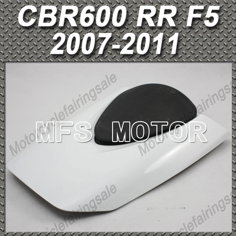 For Honda CBR600RR F5 CBR 600 RR F5 2007 2011 08 09 10 Motorcycle Rear Pillion White Seat Cowl Cover