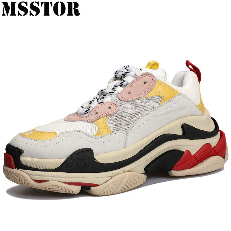MSSTOR Women Men Sneakers Casual Fashion Running Shoes Man Brand Athletic Walking Breathable Genuine Leather Ladies SneakersMSSTOR Women Men Sneakers Casual Fashion Running Shoes Man Brand Athletic Walking Breathable Genuine Leather Ladies Sneakers