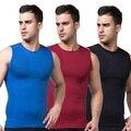Slimming Men's Body Control Shaper Vest Tummy Belly Waist Girdle Cincher Shirt Underwear Bodysuit New  L4