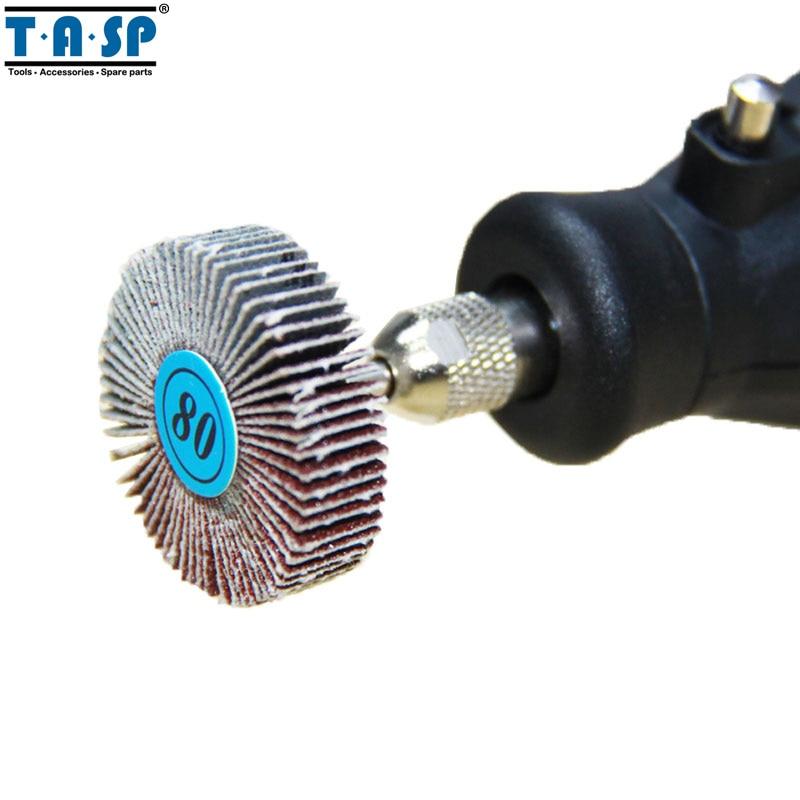 TASP 9pcs disque de ponçage de roue à lamelles abrasives - Outils abrasifs - Photo 4