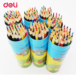 Deli color pencil set wooden painting colorful pencils for student artist drawing paint supplies 12 18.jpg 250x250