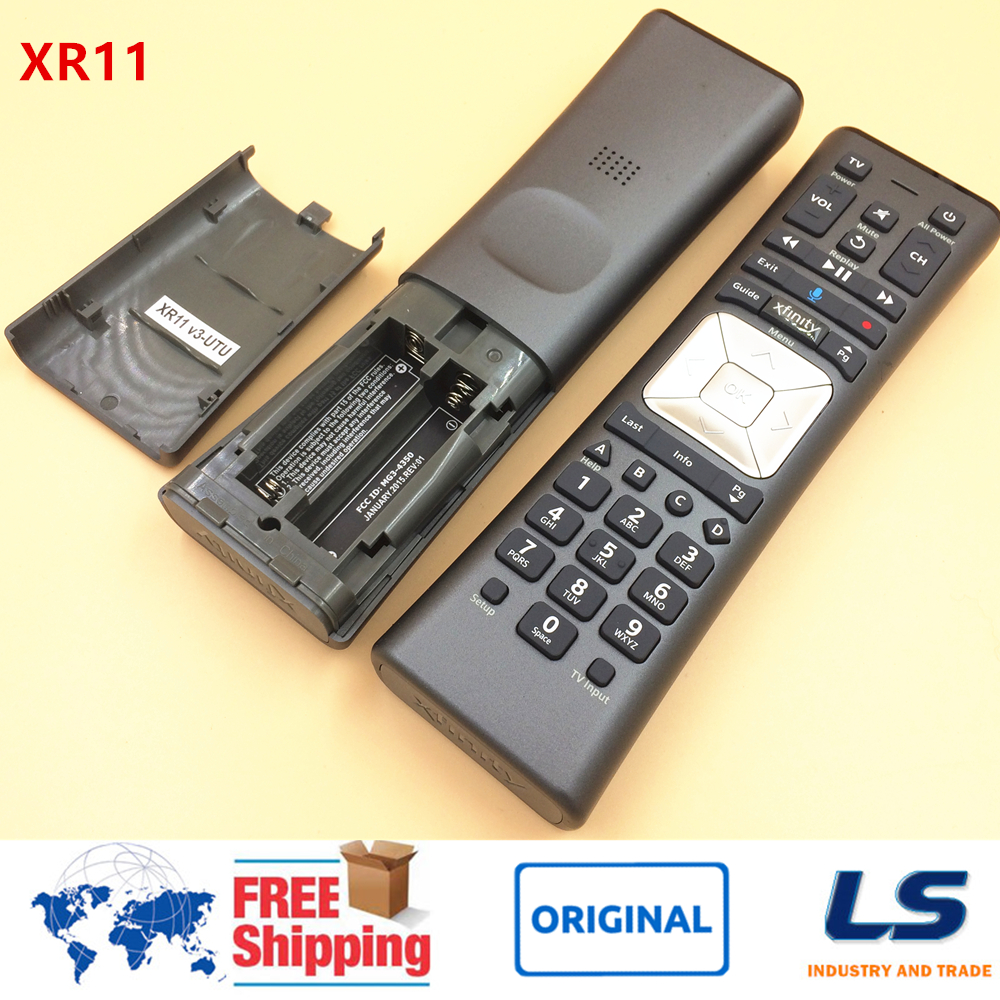 US $10 0 |Comcast/Xfinity XR11 Premium Voice Activated Cable TV Backlit  Remote Control XG1, Xi3, X1 Series-in Remote Controls from Consumer