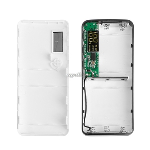 Image 4 - 3 portas usb 5x18650 diy titular da bateria portátil display lcd caso caixa de banco de potência whosale & dropship