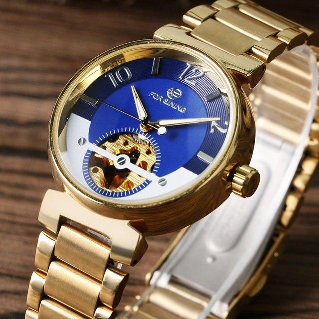 2016 Fashion Mens Watches Top Brand Luxury Classic Luminous Wristwatch Analog Skeleton Watch Dress Business Automatic Mechanical