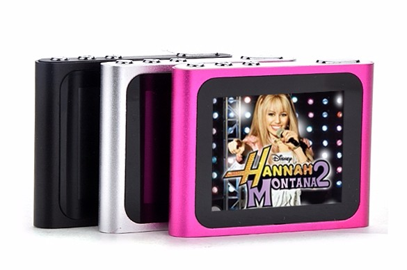 """6th Gen 1.8inch 1.8"""" LCD FM Radio Video Music Mp3 Mp4 Player Support 2G 4GB 8GB 16GB Card WMV format TFT 262K color screen 3"""