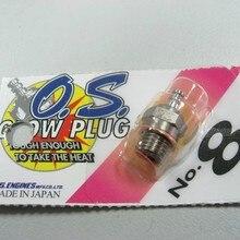2 шт./лот OS8 № 8 O.S. OS8 средняя вилка N свечи накаливания для двигателя ОС