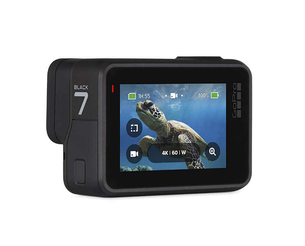 GoPro HERO7 черная Водонепроницаемая экшн-Спортивная камера GoPro HERO 7 12MP фото прямая стабилизация