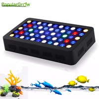 2pc/lot Stock in DE/US Factory Price Led Aquarium Light Dimmable 165W High Power Aquarium led lighting for coral reef fish
