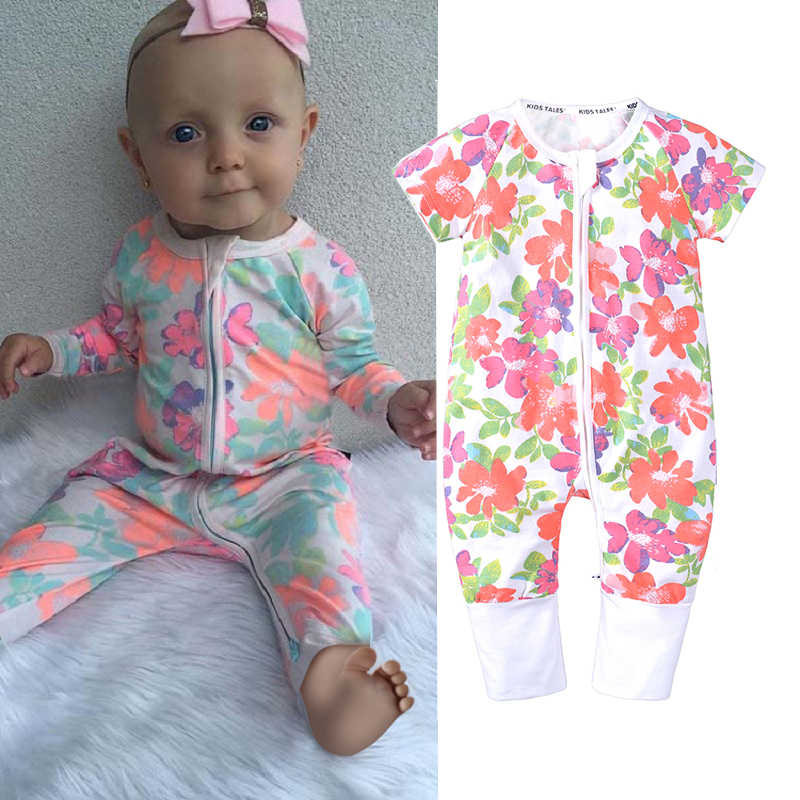 f2688e20e Detail Feedback Questions about Baby girls rompers floral long ...