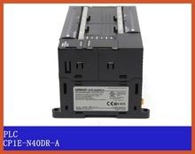 CP1E-N40DR-A Original New CP1E PLC CPU 40 I/O 24DI 16DO Relay N40DR new original 1769 arm plc specialty i o module