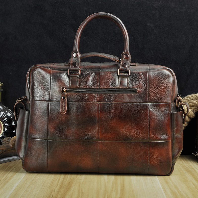 HTB13YbOXEjrK1RkHFNRq6ySvpXa3 Original leather Men Fashion Handbag Business Briefcase Commercia Document Laptop Case Design Male Attache Portfolio Bag 3061-bu