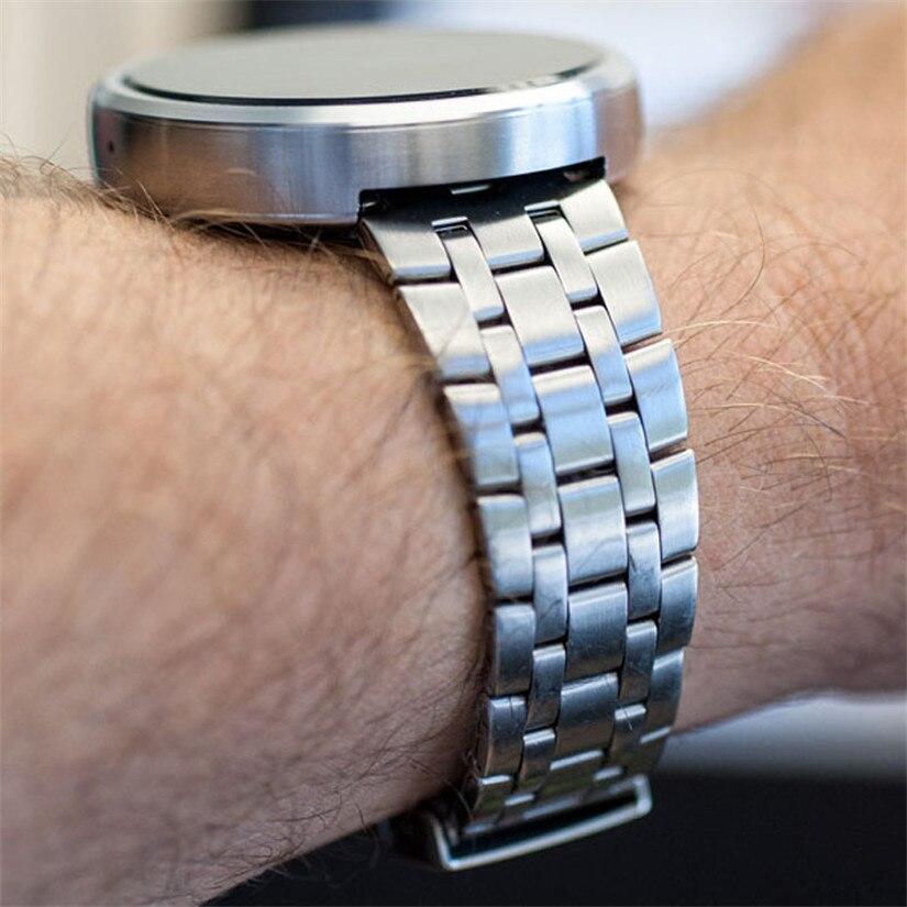 motorola smartwatch. online shop 22mm stainless steel watch band bracelet for motorola moto 360 smart watch+tool wristwatches men women perfect gift | aliexpress mobile smartwatch