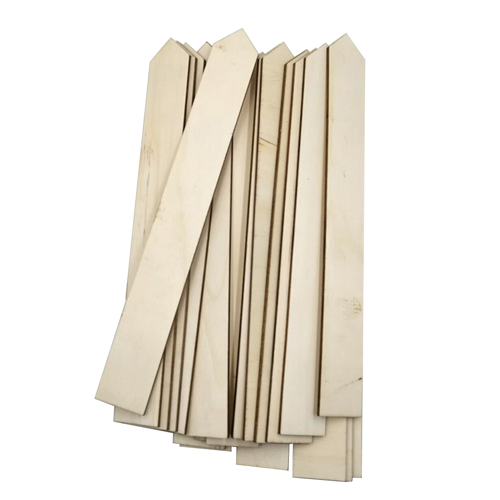 biliten 50 Pcs Bamboo Plant Nursery Garden Markers T-Type Labels