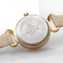 Women leather wrist watches