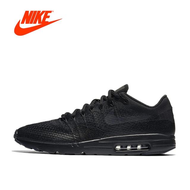 Asli Baru Kedatangan Otentik Nike Pria AIR MAX Bernapas Sepatu Lari Sepatu  Kets ae02bf62db