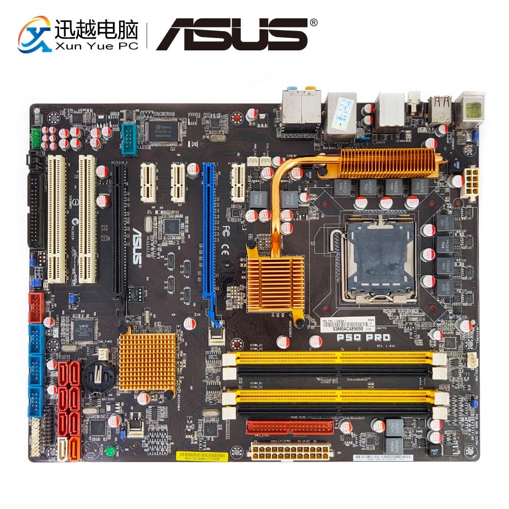 Asus P5Q Pro Desktop Motherboard P45 Socket LGA 775 DDR2 16G SATA2 USB2.0 ATX