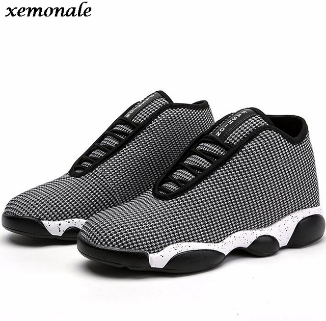a7804a7e79b Lovers Casual Shoes Lace Up Sport Basket For Men High Top Shoes Jordan  Breathable Walking Woman