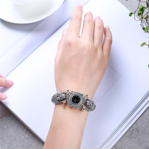 Image 2 - בציר תאילנדי כסף קלאסי S925 סטרלינג תכשיטי כסף תאילנדי כסף נמר גבירותיי שעון יצרנים ישיר אספקת צמיד