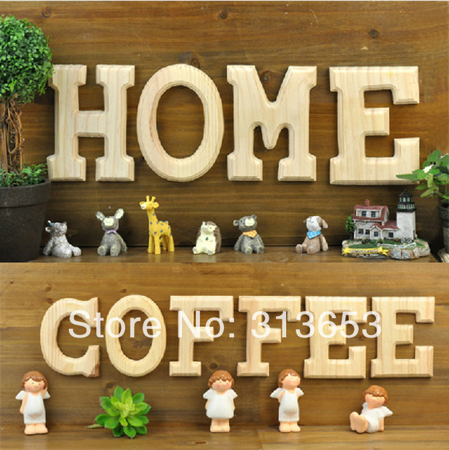 diy handmade classic modern wooden letters decoration for home love wooden ornaments home decoration