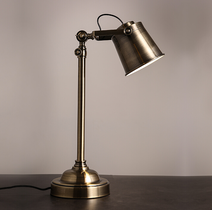 American Country Industrial Vintage Loft Style Classic Table Light ...
