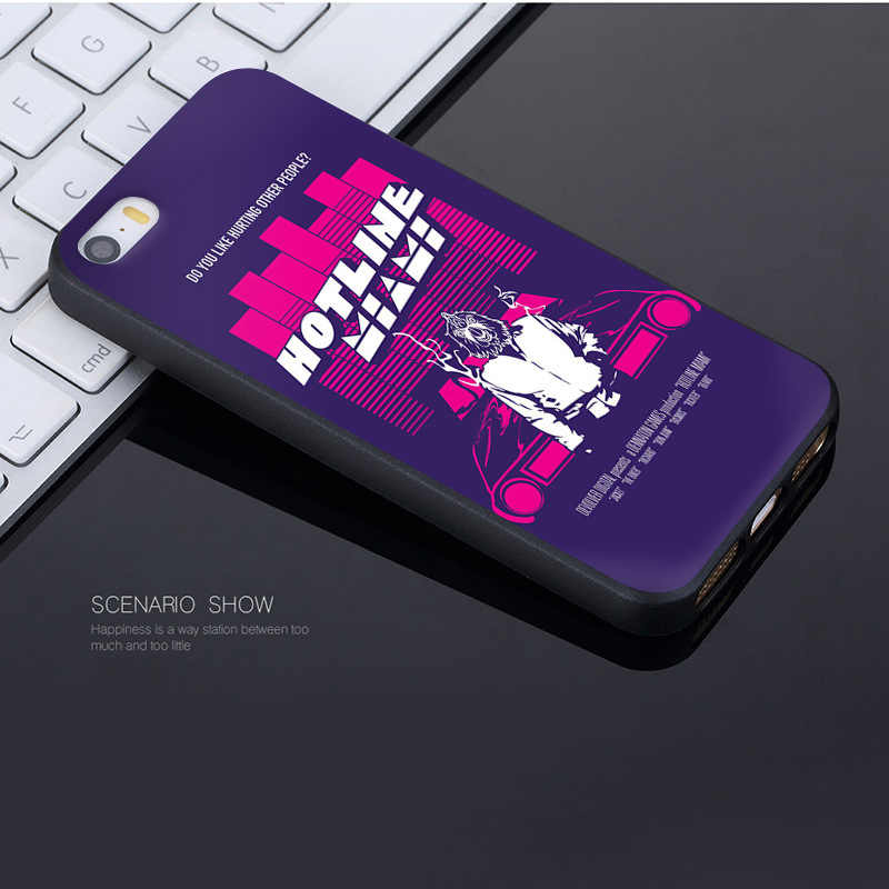 adc2139761b683 ... MaiYaCa For iphone 7 6 X Hotline Miami 2 Wrong Number on Steam Owl  Coque Shell ...