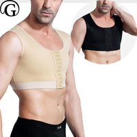 Man Boobs Compression Moobs Tank Belly Slimming Corset Male Vest Waist Trainer Corsets Body Shaper Shirt