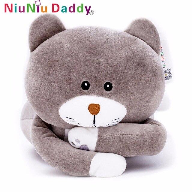Niuniu Daddy Super Soft Cat Plush Kitten Toy Stuffed Cat Doll Plush