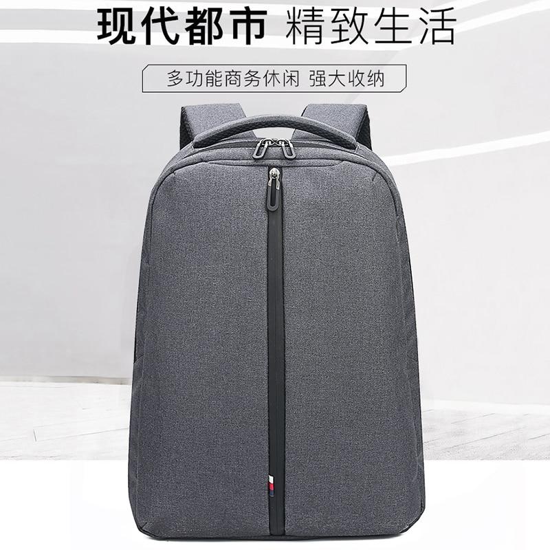 2019New men fashion backpack 15 inch laptop backpack men waterproof travel outdoor backpack school teenager backpack Mochila in Backpacks from Luggage Bags