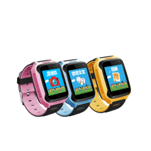 Fantastic shape GPS Smart Watch For Children GSM+GPS+LBS tracking watch