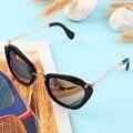 Criativo Único em Forma de Diamante Chic Retro Vintage óculos de Sol Da Moda Dom 2016 Moda