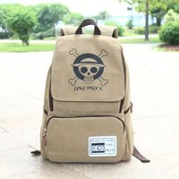 2019 New 14 inch Laptop Backpack Japan Anime One Piece Backpack 2018 New Canvas Cartoon mochilas School Bags for Teenagers