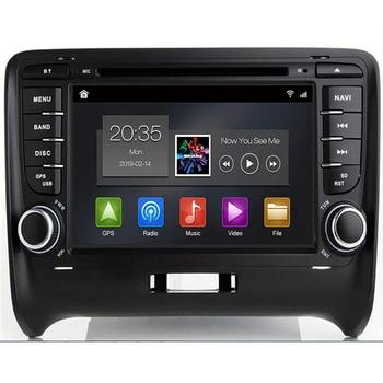 "2 Din 7"" Android 9.0 QUAD Core GPS Navigation Radio Car DVD Player for Audi TT MK2 8J 2006 2007 2008 2009 2010 2011 2012"