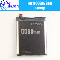 Doogee S60 Battery Replacement 100% Original New High Quality High Capacity 5580mAh Battery for Doogee S60