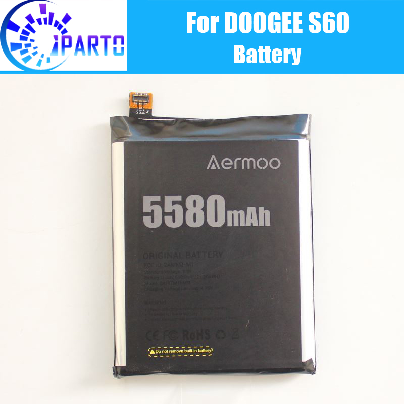 <font><b>Doogee</b></font> <font><b>S60</b></font> <font><b>Battery</b></font> Replacement 100% Original New High Quality High Capacity 5580mAh <font><b>Battery</b></font> for <font><b>Doogee</b></font> <font><b>S60</b></font> image