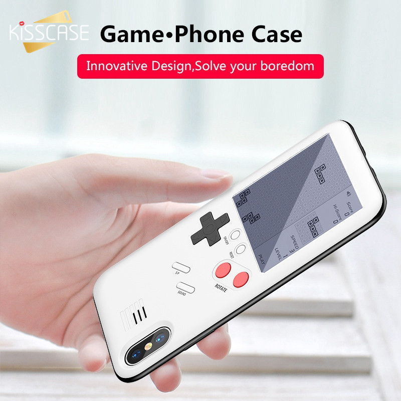 KISSCASE Case For iPhone 6S Plus 6 S Game Machine Retro Game Console Case For iPhone 8 7 Plus 8 Plus 6 Plus 6 X Capinhas Coque