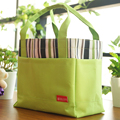 Square stripe drawstring bag tote lunch bag lunch bags lunch bag cloth