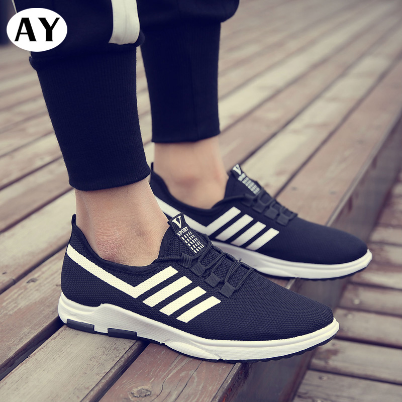 Hot Sale Spring Fall Outdoors Air Cushion Men Sneakers Breathable Fitness Jogging Footwear High Quality Sports Running Shoes