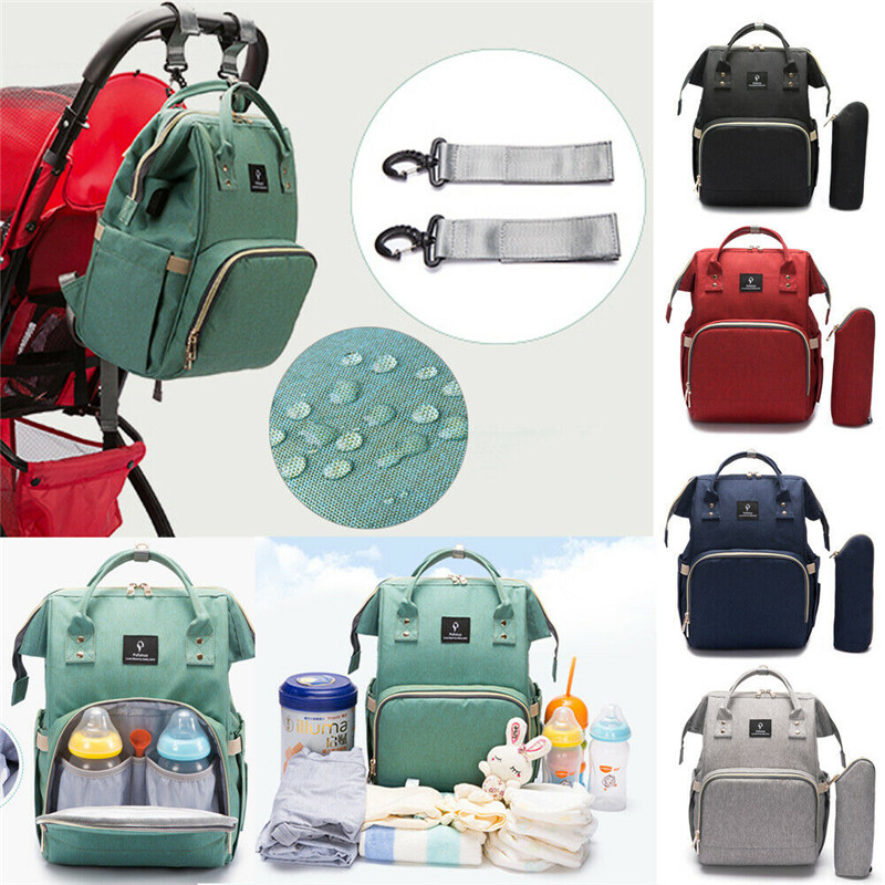 Baby Diaper Nappy Changing Mummy Bag Large Rucksack Hospital Maternity BackpackBaby Diaper Nappy Changing Mummy Bag Large Rucksack Hospital Maternity Backpack