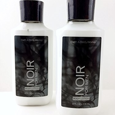 Noir for Men Body Lotion - Bath & Body Works Signature Collection (2-pack) 8 oz each new model magic modeling compound 8 oz each neon 2 lbs 232413