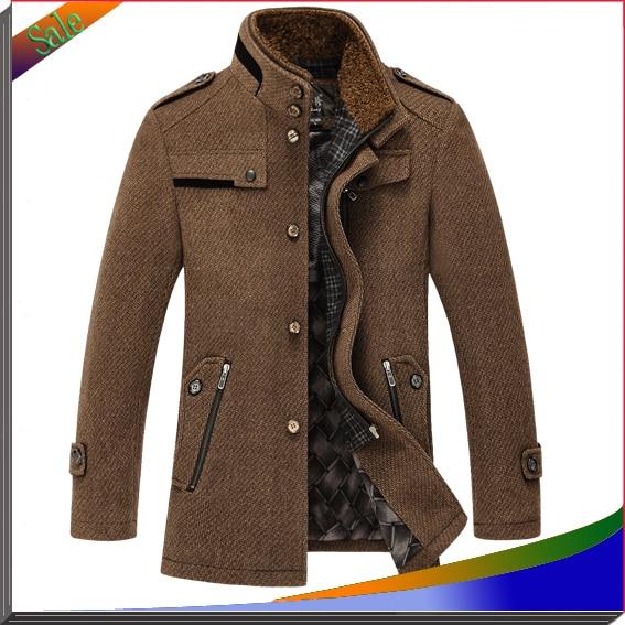 New Fashion Men Jackets Wool Brand Men Sportswear Jaqueta ...