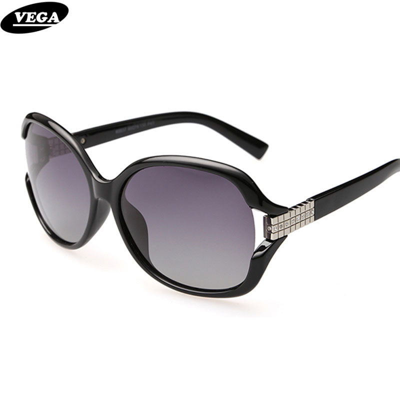 3e86141f82e VEGA Ladies Funky Rhinestone Sunglasses Polarized HD Vision Visor Eyewear  Women Black Oversized Frame Eyeglasses Styles
