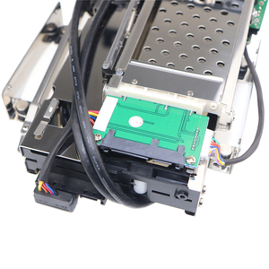 """Image 2 - 5.25 """"optische Dual Bay Tray Weniger Mobile Rack Gehäuse Für 2.5/3,5 Inch SATAT III HDD SSD Mit 2 Port USB 3,0 Hub Für Desktop PC"""