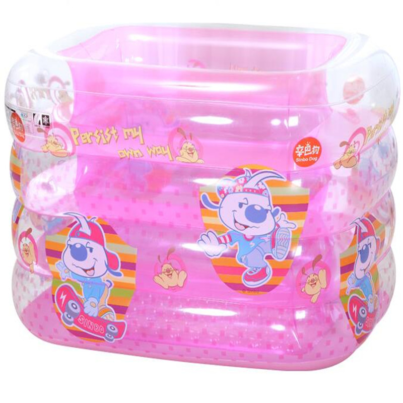 2017 Baby Swimming Pool Inflatable Square Blue Eco-Friendly PVC Baby Pools Bebe Inflatable Toys piscine Swimming Barrel piscine accessoires pool baby swimming pools eco friendly pvc baby inflatable swim accessories water swim float necessaries
