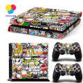Hot Sale Bombs For PS4 Vinyl Skin Sticker Cover For PS4 Playstation 4 Accessories Console + 2 Controller Decal